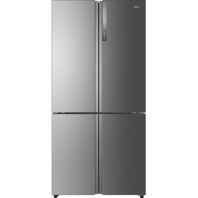 Haier American Fridge Freezer - Stainless Steel Effect - A++ Rated