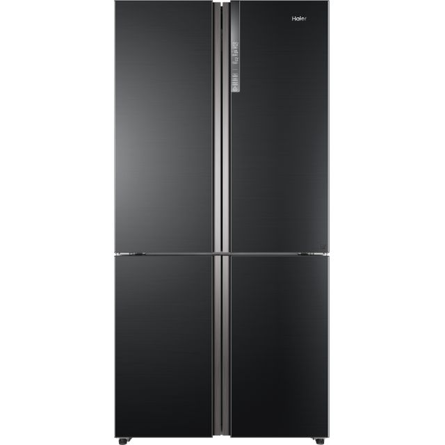 Haier HTF-610DSN7 American Fridge Freezer - Graphite - A++ Rated - HTF-610DSN7_GH - 1