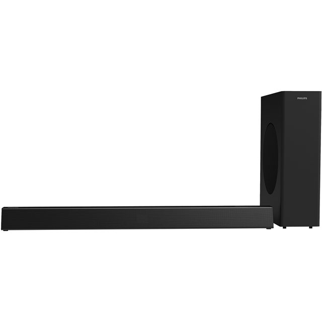 Philips HTL3310 Multiroom Bluetooth Soundbar with Wireless Subwoofer - Black - HTL3310 - 1