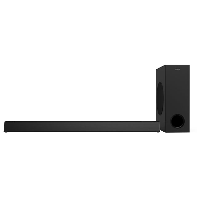 Philips HTL3320 Multiroom Bluetooth Soundbar with Wireless Subwoofer - Black - HTL3320 - 1