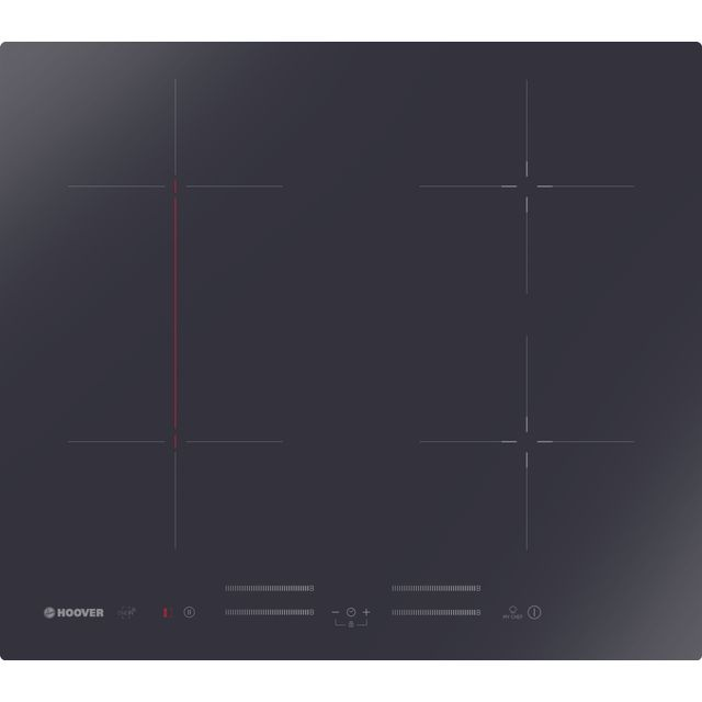 Hoover H-HOB 700 INDUCTION HTPSJ644MC WIFI Built In Induction Hob - Black - HTPSJ644MC WIFI_BK - 1