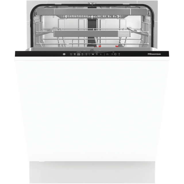 Hisense HV672C60UK Fully Integrated Standard Dishwasher - Black Control Panel - C Rated