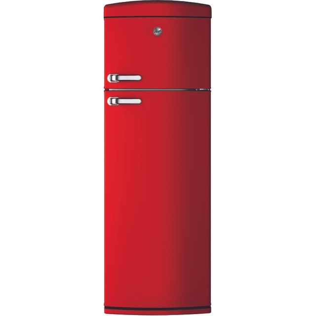 Hoover HVRDS6172RKH Fridge Freezer - Red - HVRDS6172RKH_RD - 1