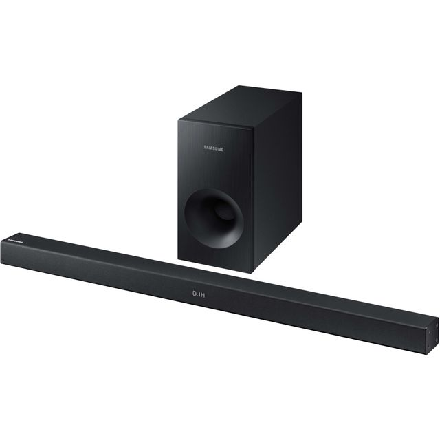 Samsung HW-K335 Bluetooth Soundbar with Wired Subwoofer - Black
