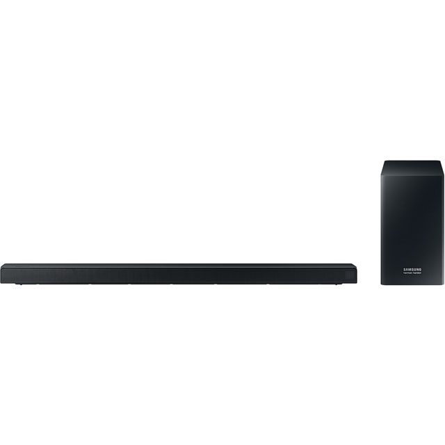 Samsung HW-Q60R/XU Bluetooth Soundbar with Wireless Subwoofer - Charcoal Black