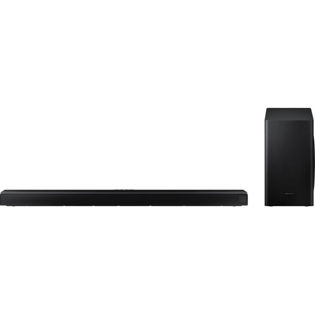 Samsung HW-Q60T Bluetooth Soundbar with Wireless Subwoofer - Black - HW-Q60T - 1