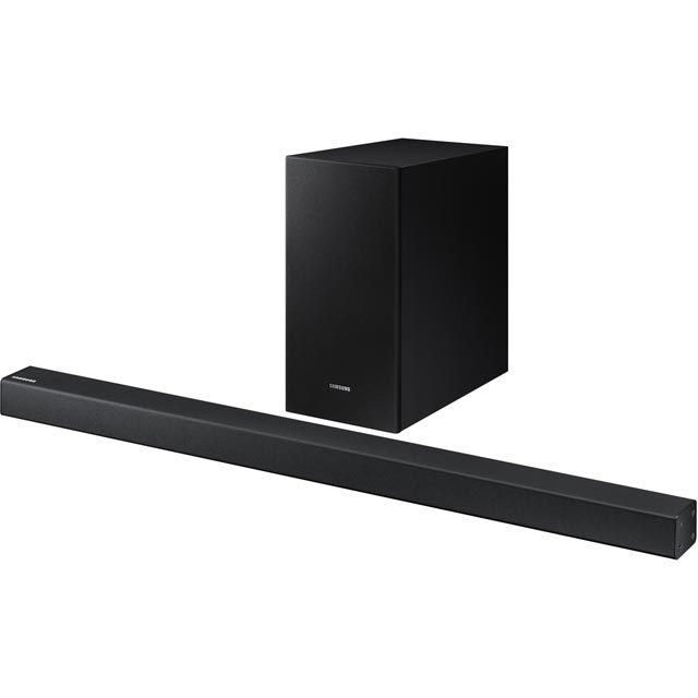 Samsung HW-R430 Bluetooth Soundbar with Wireless Subwoofer - Black - HW-R430 - 1