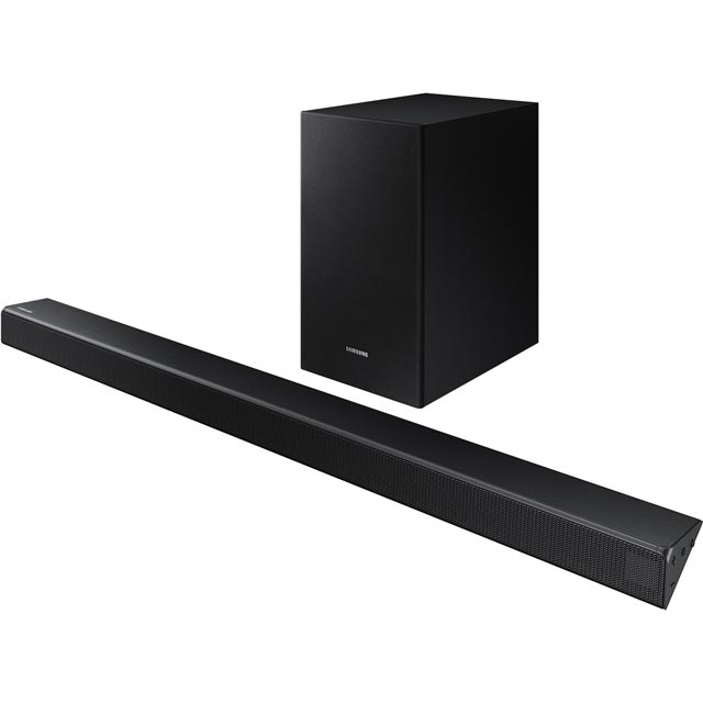 Samsung HW-R530/XU Bluetooth Soundbar with Wireless Subwoofer - Charcoal Black - HW-R530/XU - 1
