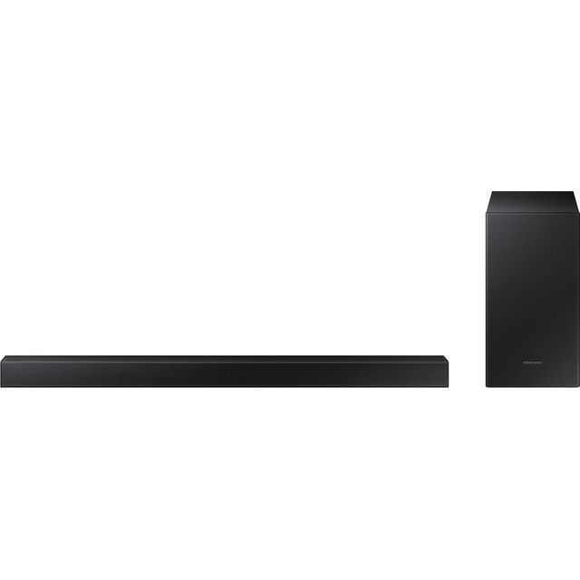Samsung HW-T420 Bluetooth Soundbar with Wired Subwoofer - Black - HW-T420 - 1