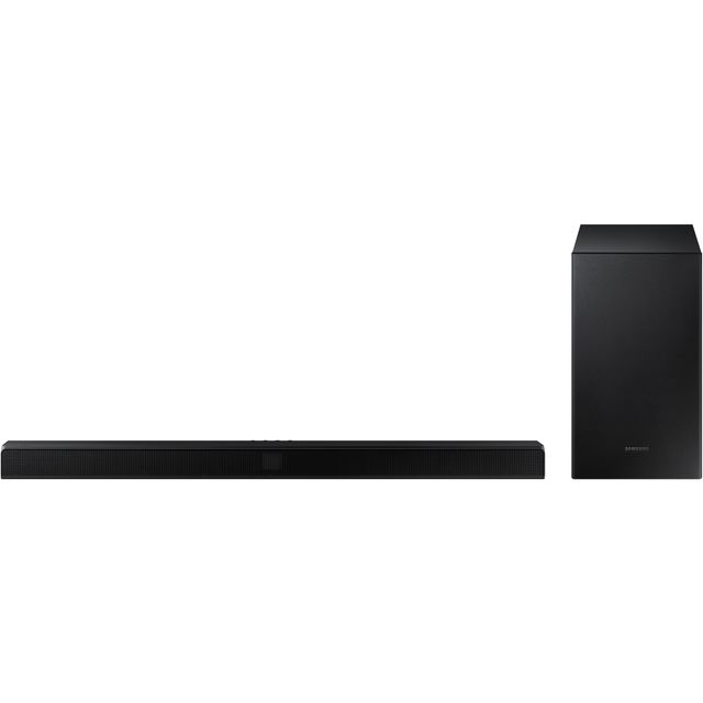 Samsung HW-T550 Bluetooth Soundbar with Wireless Subwoofer - Black - HW-T550 - 1