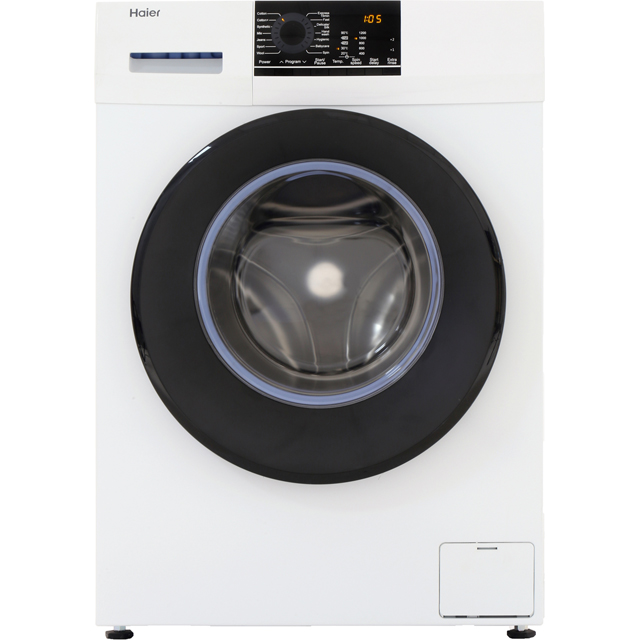 Haier HW100-14829 10Kg Washing Machine with 1400 rpm - White - A+++ Rated - HW100-14829_WH - 1