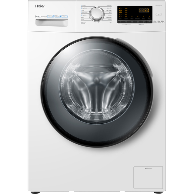 Haier HW100-B1439 10Kg Washing Machine with 1400 rpm - White - A+++ Rated