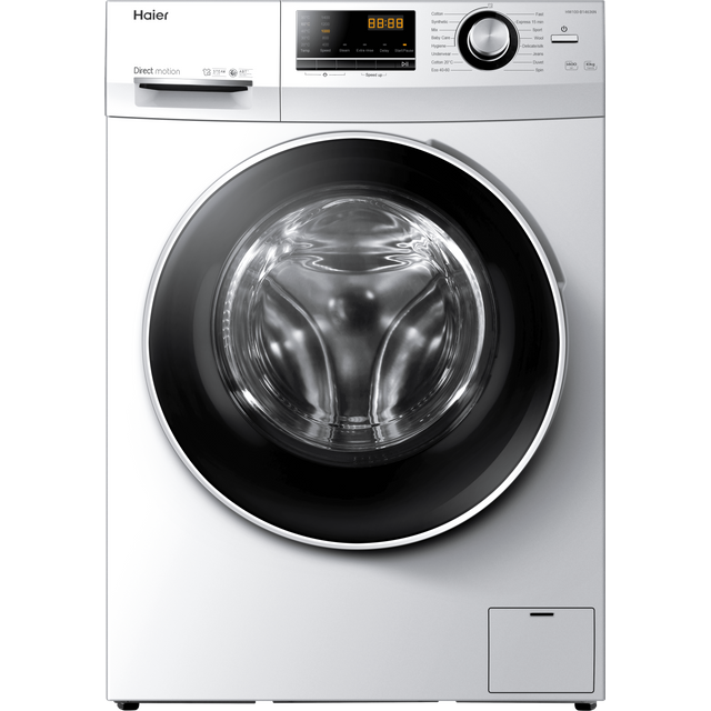 Haier HW100-B14636N 10Kg Washing Machine - White - HW100-B14636N_WH - 1