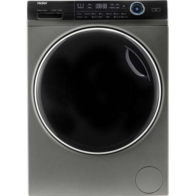 Haier i-Pro series 7 HW100-B14979S 10Kg Washing Machine with 1400 rpm - Graphite - A+++ Rated - HW100-B14979S_GH - 1
