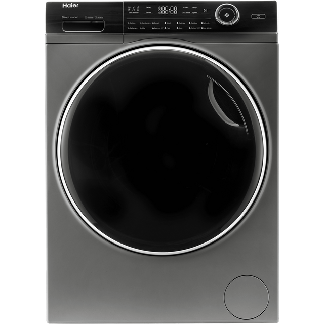 Haier i-Pro series 7 HW100-B14979S 10Kg Washing Machine with 1400 rpm - Graphite - A Rated