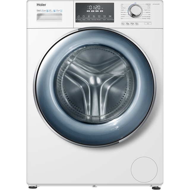 Haier HW120-B14876 12Kg Washing Machine with 1400 rpm - White - A+++ Rated
