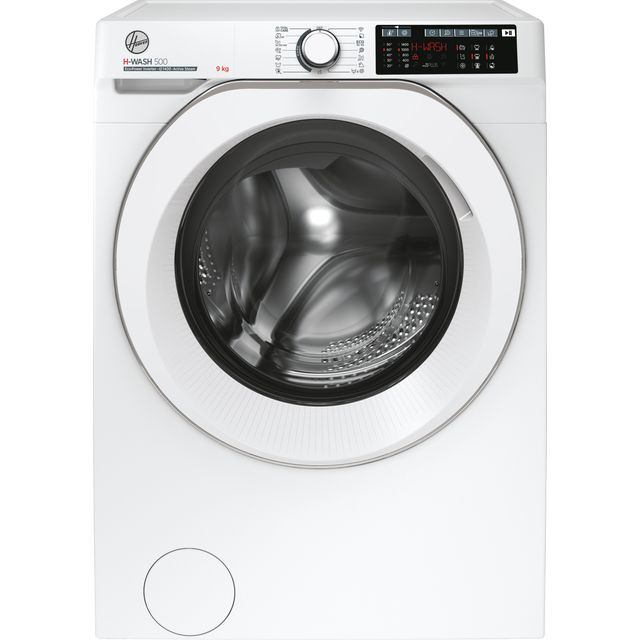 Hoover H-WASH 500 HW49AMC/1 9Kg Washing Machine - White - HW49AMC/1_WH - 1