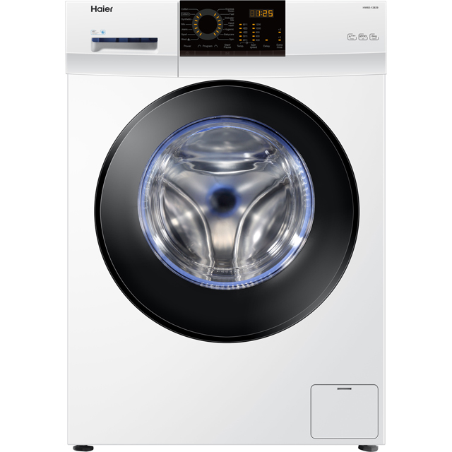 Haier HW60-12829 6Kg Washing Machine with 1200 rpm - White - A+++ Rated