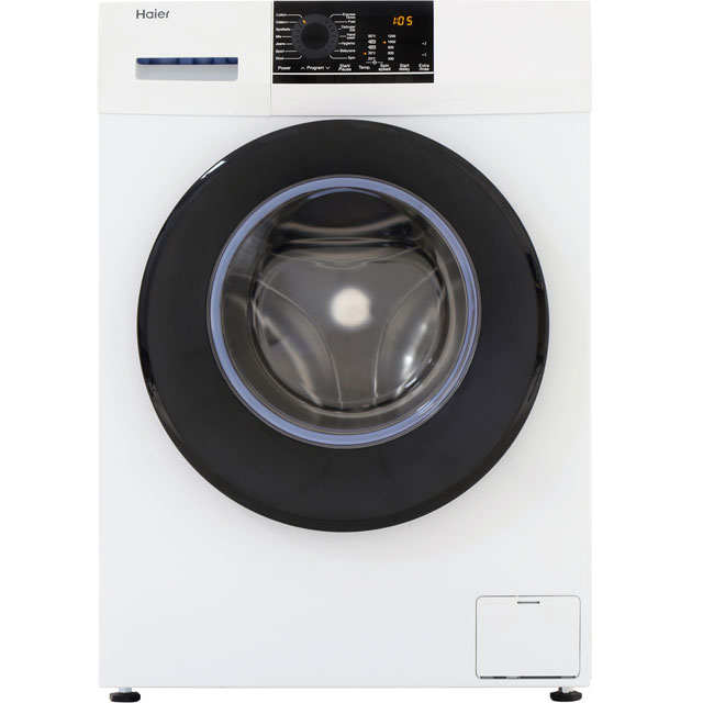 Haier 7Kg Washing Machine - White - A+++ Rated