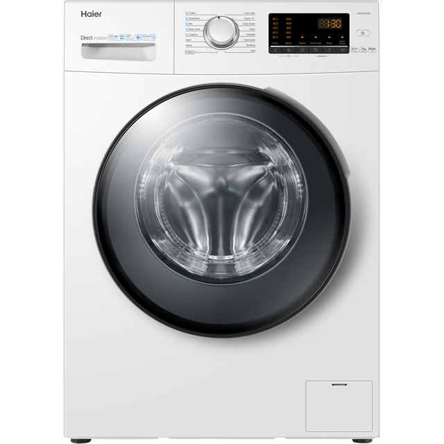 Haier HW70-B1239 7Kg Washing Machine with 1200 rpm - White - A+++ Rated