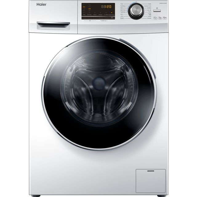 Haier HW90-B14636 9Kg Washing Machine with 1400 rpm - White - A+++ Rated - HW90-B14636_WH - 1