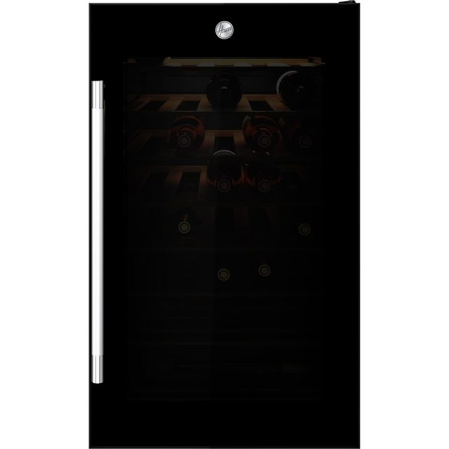 Hoover H-WINE HWC150UKW/N Wine Cooler - Black - G Rated