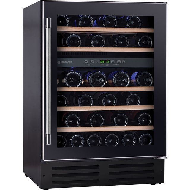 Hoover HWCB60UK Built In Wine Cooler - Black - HWCB60UK_BK - 1