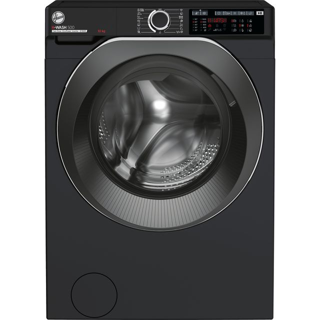 Hoover H-WASH 500 HWD610AMBCB/1 10Kg Washing Machine - Black - HWD610AMBCB/1_BK - 1