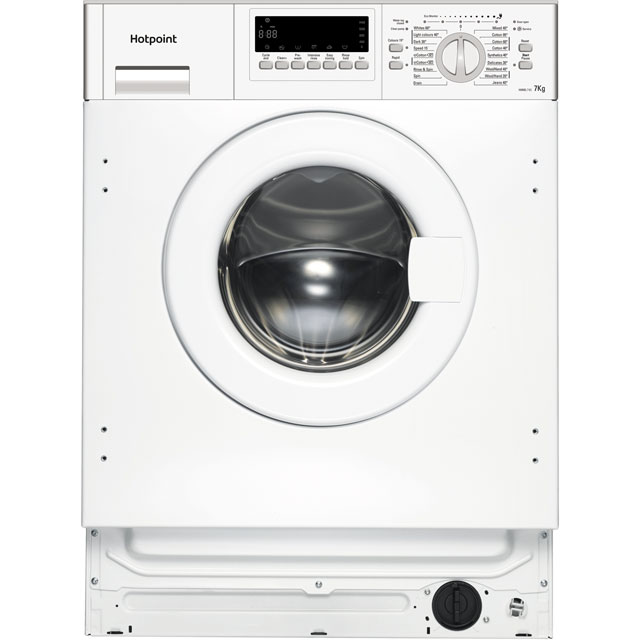 Hotpoint HWMG743 Integrated 7Kg Washing Machine with 1400 rpm - A+++ Rated