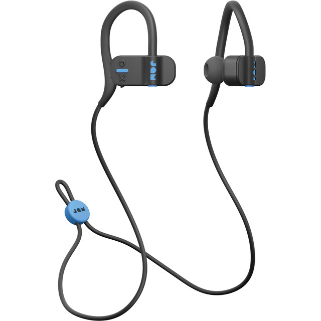 JAM In-ear Water Resistant Wireless Sports Headphones - Black