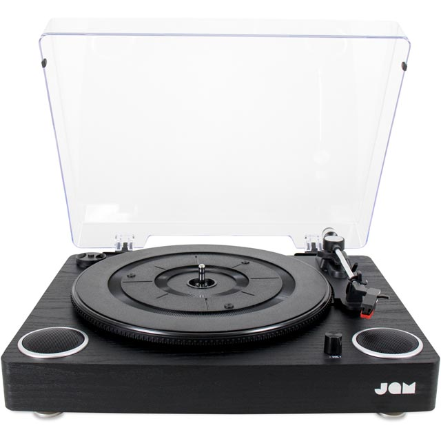 JAM Play HX-TTP300BWD-GB Record Turntable - Black - HX-TTP300BWD-GB - 1