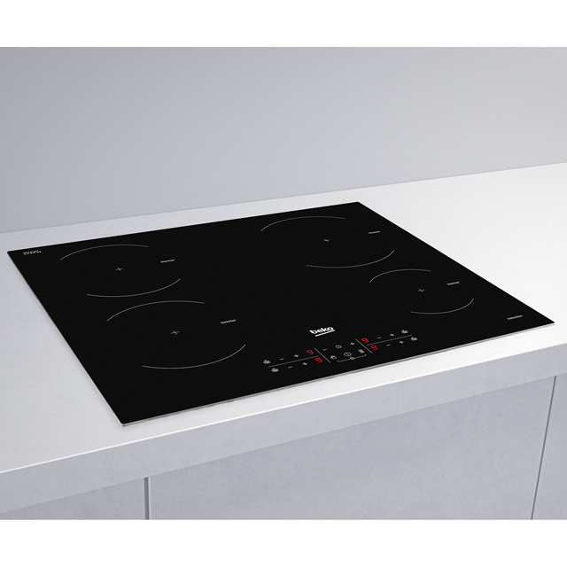 Beko HXI64200AT Built In Induction Hob - Black - HXI64200AT_BK - 4