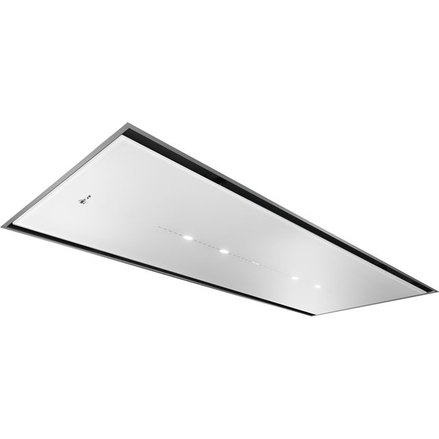 NEFF N70 I25CBS8W0B 120 cm Integrated Cooker Hood - White Glass - I25CBS8W0B_WH - 1