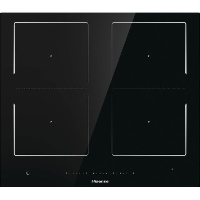 Hisense I6456C 60cm Induction Hob - Black - I6456C_BK - 1