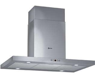 NEFF 90 cm Chimney Cooker Hood - Stainless Steel - D Rated