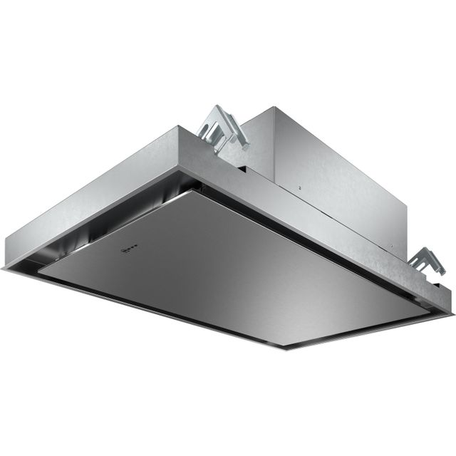 NEFF N50 I94CAQ6N0B Built In Integrated Cooker Hood - Stainless Steel - I94CAQ6N0B_SS - 1