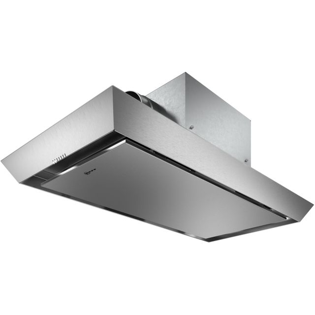 NEFF N50 I95CAP6N1B Built In Integrated Cooker Hood - Stainless Steel - I95CAP6N1B_SS - 1
