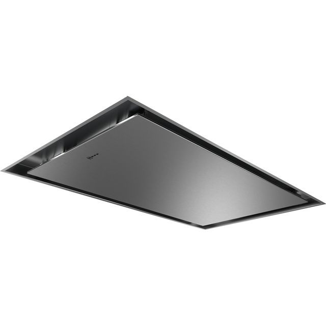 NEFF N50 I95CAQ6N0B Built In Integrated Cooker Hood - Stainless Steel - I95CAQ6N0B_SS - 1