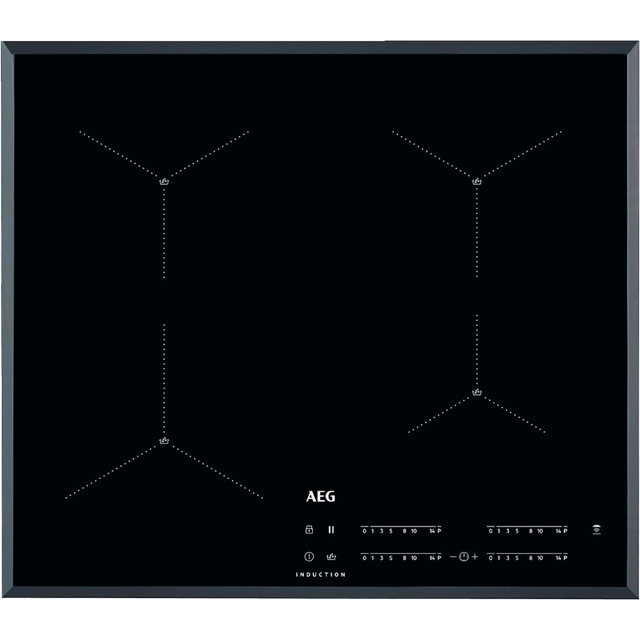 AEG IAE64411FB 59cm Induction Hob - Black - IAE64411FB_BK - 1