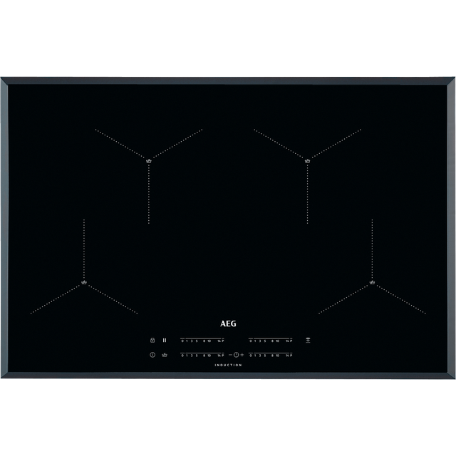 AEG IAE84411FB 78cm Induction Hob - Black - IAE84411FB_BK - 1