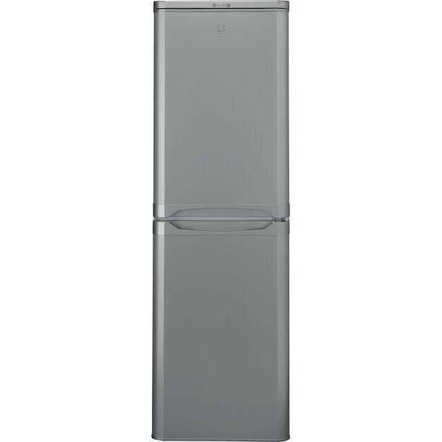 Indesit IBD5517SUK1 50/50 Fridge Freezer - Silver - A+ Rated