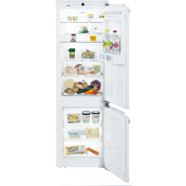 Image of Liebherr ICBN3324 Integrated 70/30 Frost Free Fridge Freezer with Fixed Door Fixing Kit - White - A++ Rated