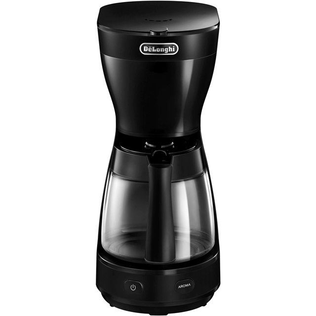 De'Longhi Clessidra ICM16210.BK Filter Coffee Machine - Black - ICM16210.BK_BK - 1