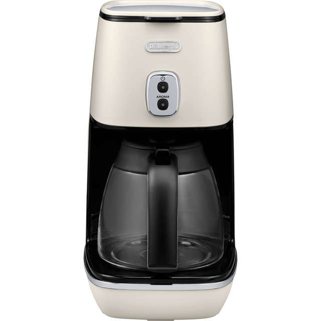 De'Longhi Distinta ICMI211.W Filter Coffee Machine - White