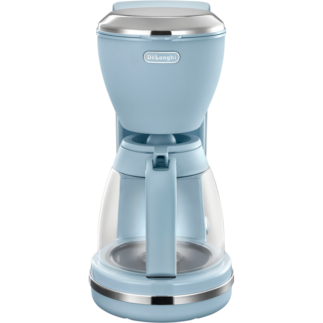 DeLonghi Argento Flora ICMX210.AZ Filter Coffee Machine - Agave Blue