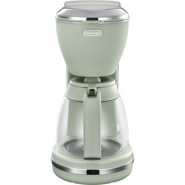 De'Longhi Argento Flora ICMX210.GR Filter Coffee Machine - Peppermint Green - ICMX210.GR_GR - 1