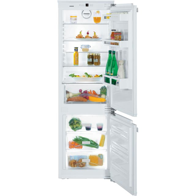 Liebherr Integrated 60/40 Fridge Freezer with Fixed Door Fixing Kit - White - A++ Rated