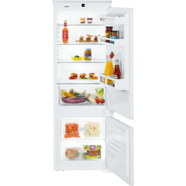 Image of Liebherr ICUS2924 Integrated 60/40 Fridge Freezer with Sliding Door Fixing Kit - White - A++ Rated