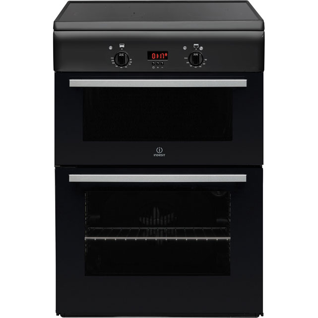 Indesit ID6IVS2A Electric Cooker with Induction Hob - Anthracite