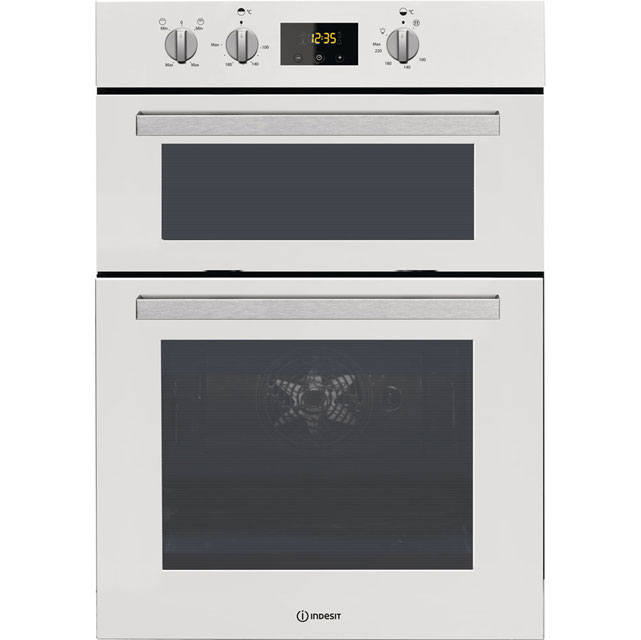 Indesit Aria IDD6340WH Integrated Double Oven in White